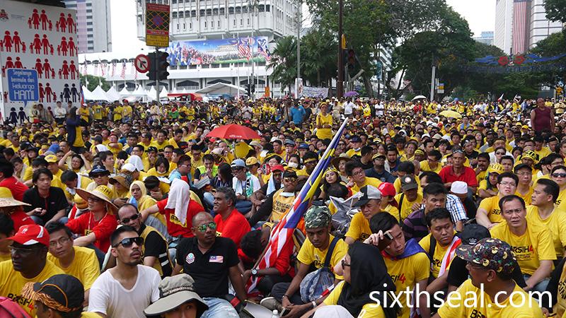 Bersih 4 Kuala Lumpur