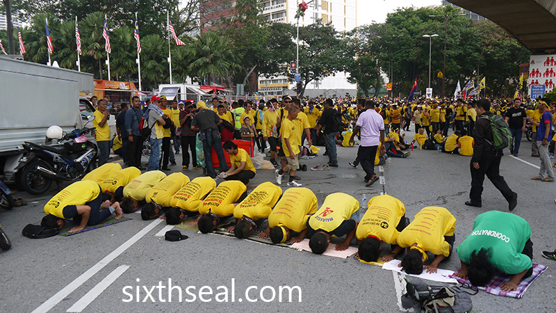 Bersih 4 Malays
