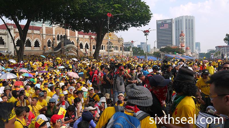 Bersih 4 Media