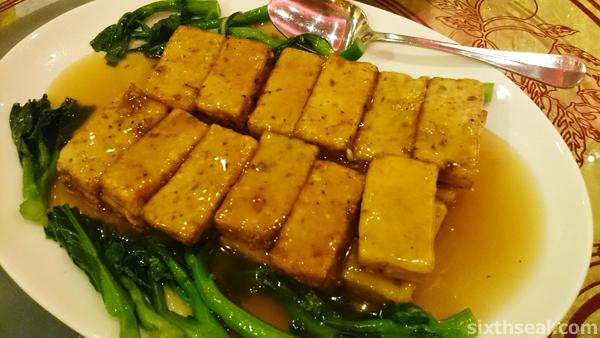 Braised Beancurd with Fish Paste