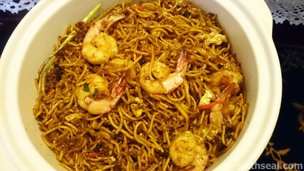 Prawn Fried Noodles