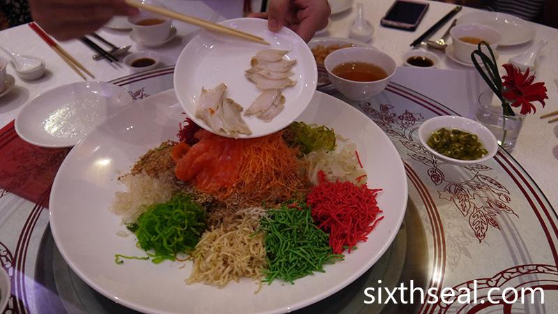Australian Yee Sang Dinner