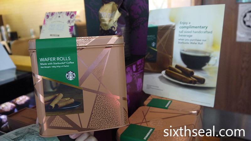 Starbucks Exclusive Coffee Wafer Rolls