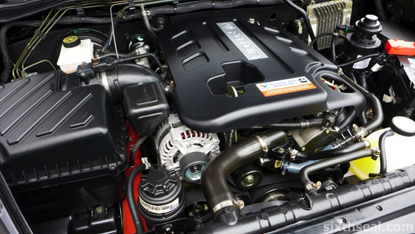 foton bison engine