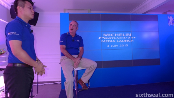 michelin primacy media launch