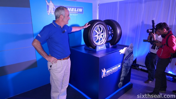 michelin primacy3 launch