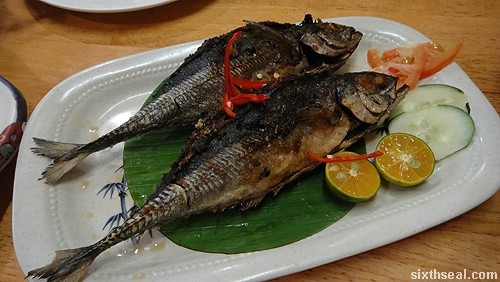 Familiar Faces Nyonya fish