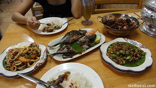 Familiar Faces Nyonya food