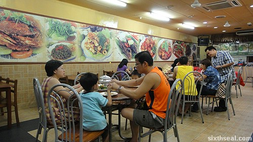 Familiar Faces Nyonya restaurant