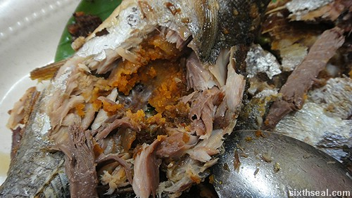 Familiar Faces Nyonya sambal fish filling