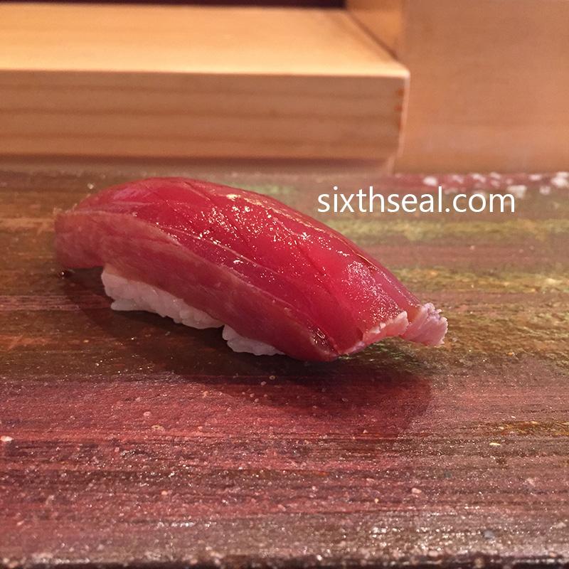 Akamizuke Tuna Sushi
