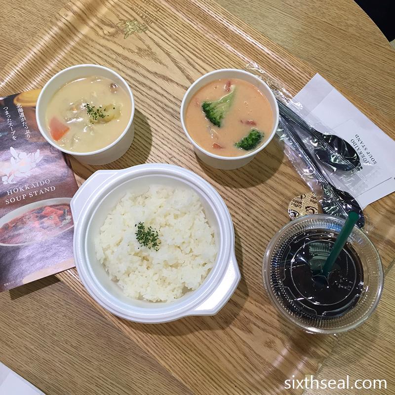 Hokkaido Soup Stand Set