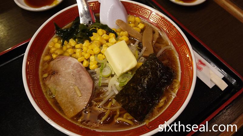 Sapporo Butter Corn Ramen