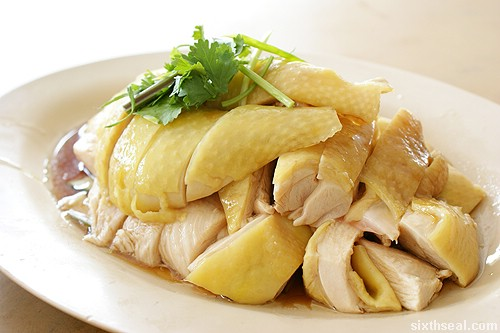 Kee Kee Bentong Chicken Rice steamed
