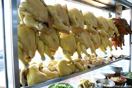Kee Kee Bentong Chicken stall