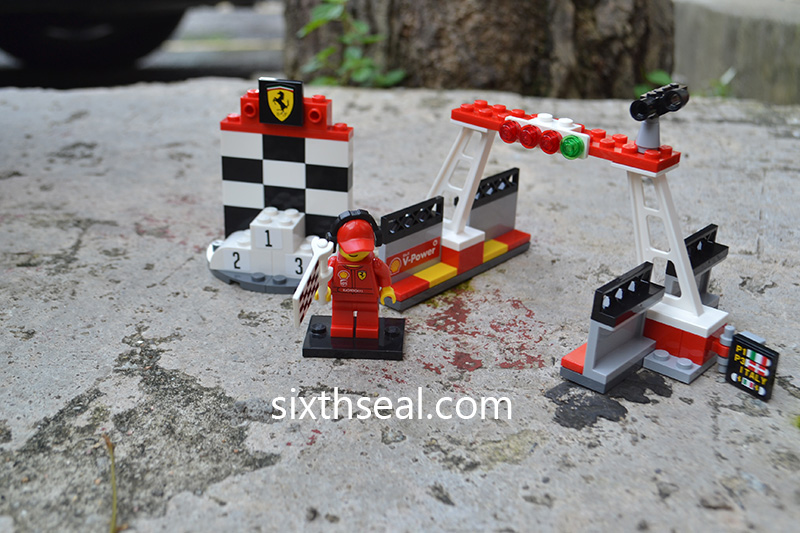 LEGO Finish Line and Podium