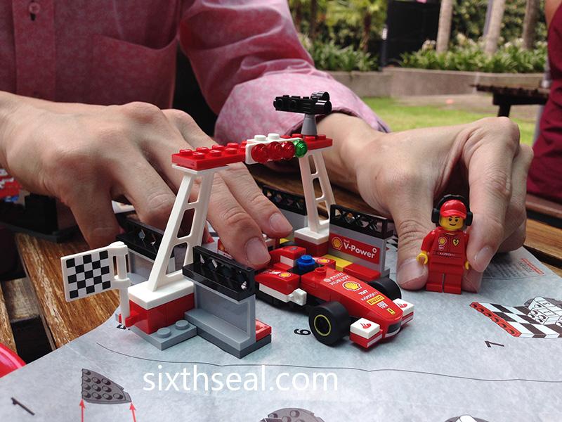 Shell V-Power LEGOs