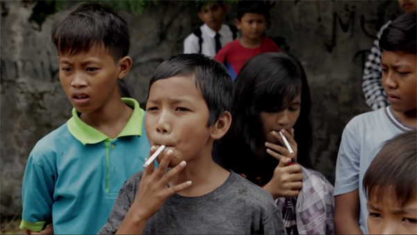 kids smoking
