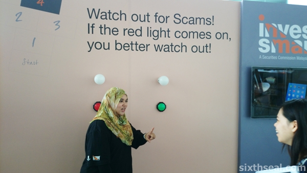 scam booth