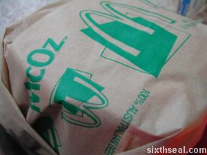 mcdonalds mcoz aussie burger