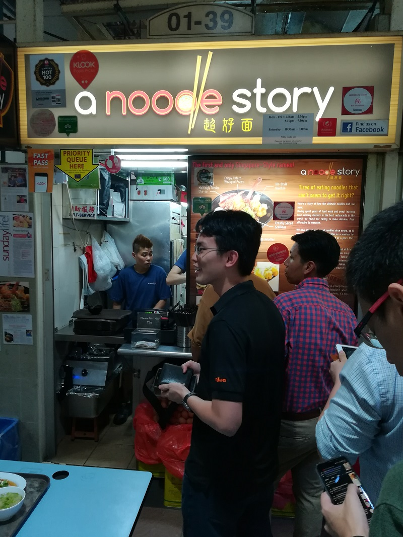 October 2018 Tendencies Tshirt To Loud Old Hitam M A Noodle Story Was One Of The Bib Gourmand Destinations I Most Excited About Its Singaporean Style Ramen And Chefs Are Young Folks Getting Into