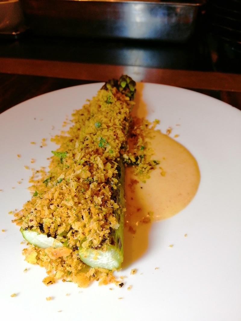 Asparagus-and-Burnt-Cream