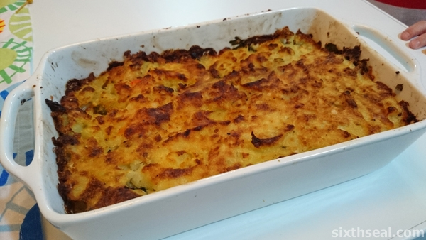Fish Pie Baked