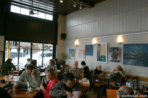 frasers cafe interior