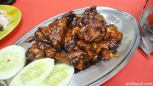 Pangkor Curry Fish Head Restaurant Honey Soy Chicken