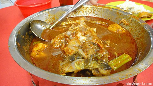 Pangkor Curry Fish Head