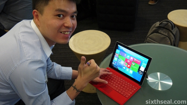 Surface 3 Hands On