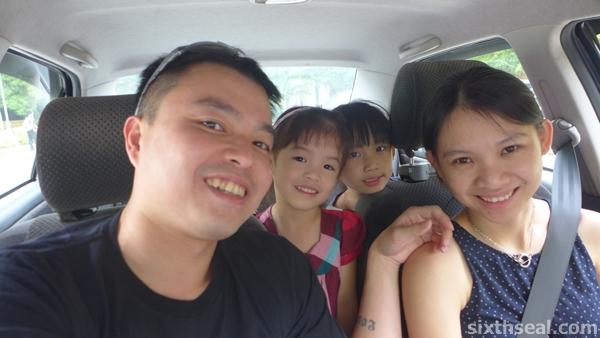 family trip morib