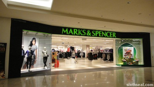 mark and spencer