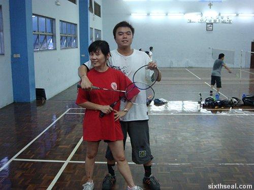 badminton round