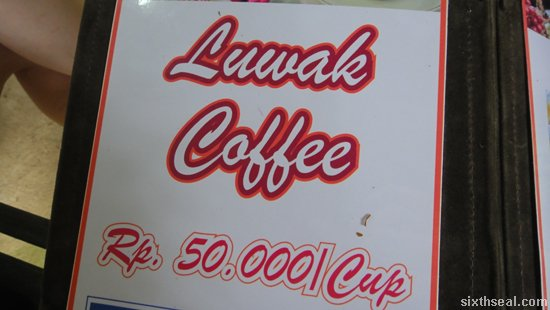 luwak coffee price
