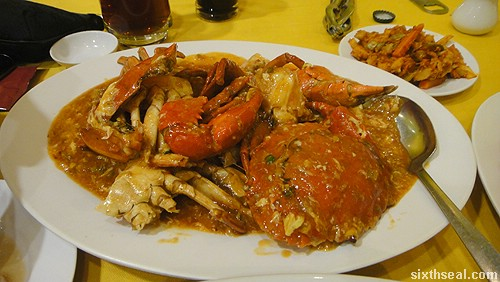 birthday crab dinner
