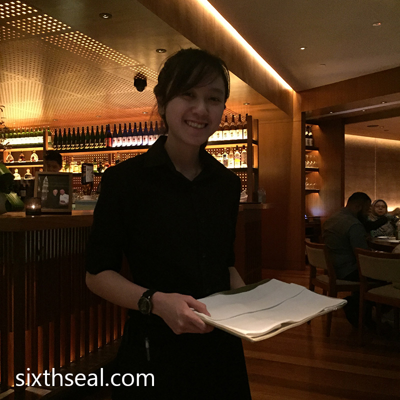 Nobu Waitress