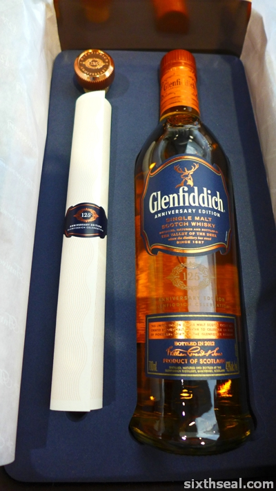 glenfiddich 125 anniversary edition