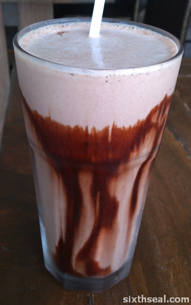 banana nutella shake