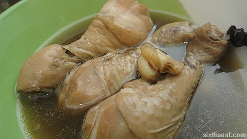 chicken bak kut teh