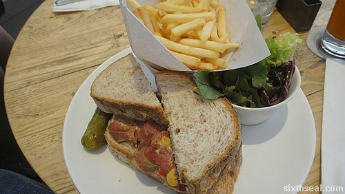 ox tongue sandwich
