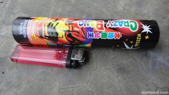 firecracker size