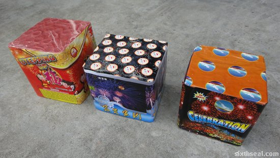 fireworks cake repeaters