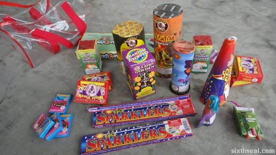 fireworks gift box