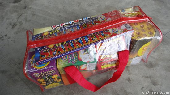 fireworks gift package