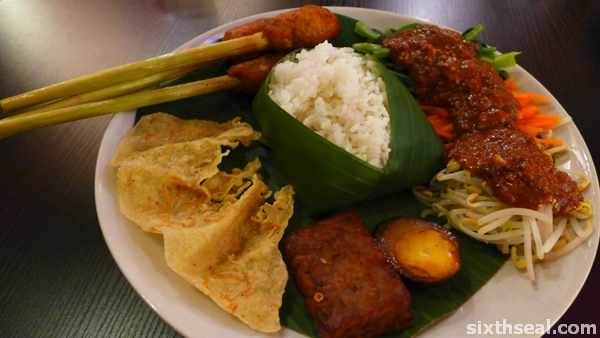 nasi pecel
