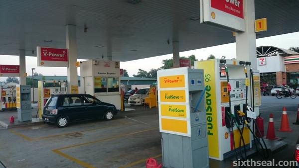 shell station malaysia