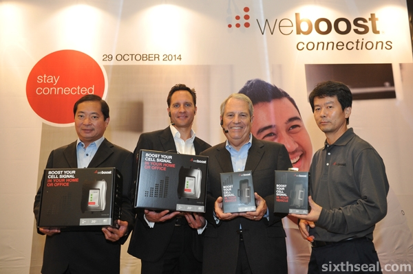 weBoost launch