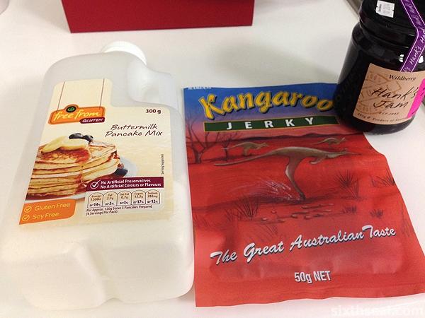 buttermilk pancakes kangaroo