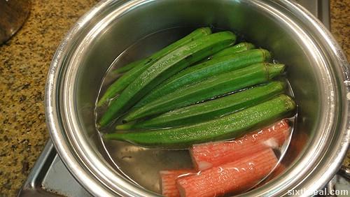 cooking surimi ladyfingers